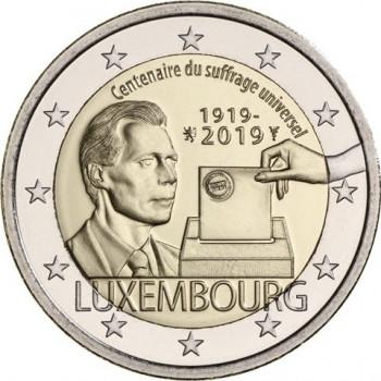 Liuksemburgas 2019 Visuotinių rinkimų šimtmetis