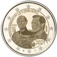 Liuksemburgas 2021 100-osios Didžiojo Hercogo Jeano gimimo metinės FOTO