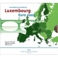 Liuksemburgas 2009 Euro Monetu BU Rinkinys proginemis monetomis