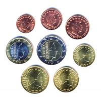 Liuksemburgas 2002 Euro Monetų UNC Rinkinys