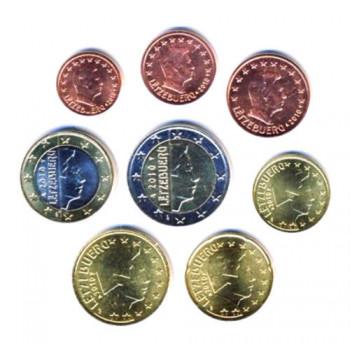 Liuksemburgas 2010 Euro Monetų UNC Rinkinys