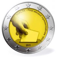Malta 2011 Konstitucinės valstybės istorija – pirmieji atstovų rinkimai 1849 m.