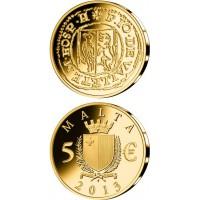 Malta 2013 5 eurai Picciolo