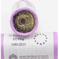 Malta 2015 Europos Sąjungos vėliavos 30-metis. Rulonas