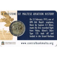 Malta 2015 Pirmasis skrydis iš Maltos kortelėje