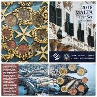 Malta 2016 Euro monetų BU rinkinys