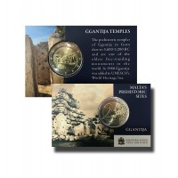 Malta 2016 Ggantijos šventykla kortelėje