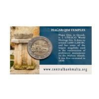 Malta 2017 Hagar Qim šventykla kortelėje