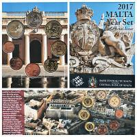 Malta 2017 Euro monetų BU rinkinys