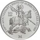 Malta 2021 10 eurų 550 -osios Albrechto Dürerio gimimo metinės