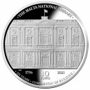 Malta 2021 10 eurų 225 -osios bibliotekos pastato statybos baigimo metinės 1796 m.