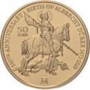 Malta 2021 50 eurų 550 -osios Albrechto Dürerio gimimo metinės