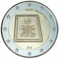 Malta 2015 Respublika 1974