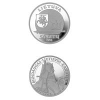Lietuva 1996 50 Litų Lietuvos karaliui Mindaugui