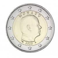 Monakas 2020 2 eurai