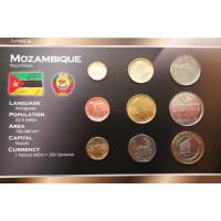 Mozambikas 2006 metų monetų rinkinys lankstinuke