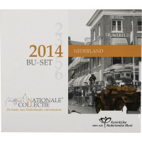 Nyderlandai 2014 Euro monetų BU rinkinys ORG