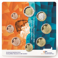 Olandija 2016 Euro monetų rinkinys