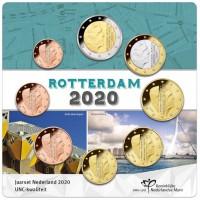 Nyderlandai 2020 Euro monetų rinkinys Roterdamas