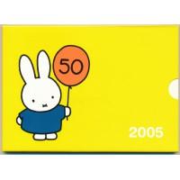 Olandija 2005 Euro monetų BU rinkinys 50 metų