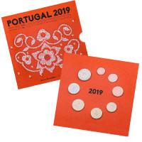 Portugalija 2019 Euro Monetų BU Rinkinys