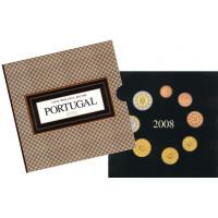 Portugalija 2008 Euro Monetų BU Rinkinys