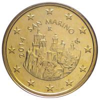 San Marinas 2014 50 centų