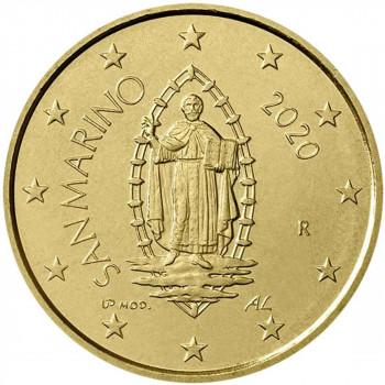 San Marinas 2020 50 centų