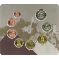 San Marinas 2020 Euro monetų BU rinkinys