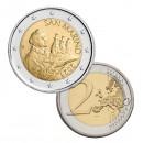 San Marinas 2021 2 eurų apyvartinė moneta