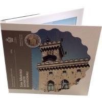 San Marinas 2015 Euro monetų BU rinkinys