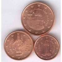 San Marinas 2006 Euro monetų mini rinkinys
