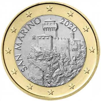 San Marinas 2020 1 euras