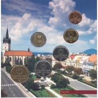 Slovakija 2005 BU rinkinys Slovakijos istoriniai regionai