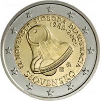 Slovakija 2009 1989 m. lapkričio 17 d. 20-osios metinės