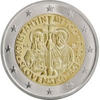 Slovakija 2013 Konstantino ir Metodijaus misijos į Didžiąją Moraviją 1150–osios metinės