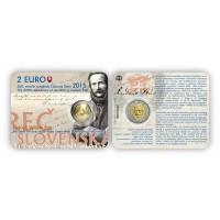 Slovakija 2015 Ludovito Šturo 200-osios gimimo metinės kortelėje