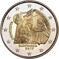 Slovakija 2017 Istropolitana universiteto 550-osios metinės