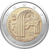 Slovakija 2018 Slovakijos Respublikos 25-metis