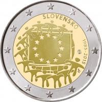 Slovakija 2015 Europos Sąjungos vėliavos 30-metis