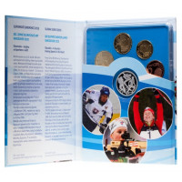 Slovakija 2010 Euro monetų PROOF LIKE rinkinys su sidabriniu medaliu