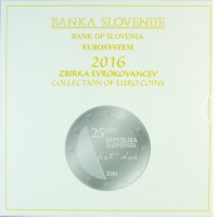 Slovėnija 2016 euro monetų BU rinkinys