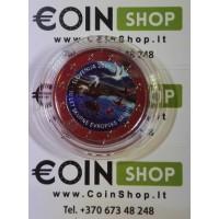 Slovėnija 2017 10 metų nuo euro įvedimo Slovėnijoje SPALVOTA