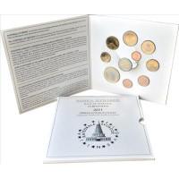 Slovėnija 2011 Euro monetų BU rinkinys