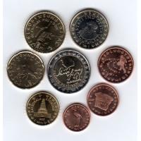 Slovėnija 2007 Euro Monetų UNC Rinkinys