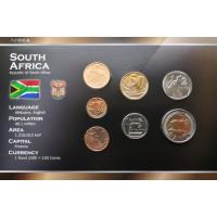 Pietų Afrikos Respublika 2008-2010 metų monetų rinkinys lankstinuke
