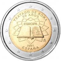 Ispanija 2007 Romos sutarties 50-osios metinės