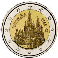 Ispanija 2012 Burgoso katedra – UNESCO pasaulio paveldo serija