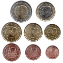 Ispanija 2021 Euro monetų UNC rinkinys