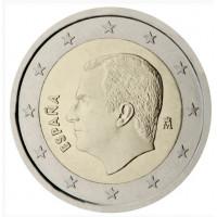 Ispanija 2021 2 eurų apyvartinė moneta